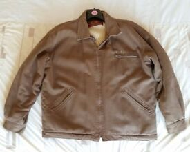 """Mens """"No Fear"""" Wool Lined Canvas Jacket"""