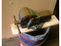 A 4 inch Record Bench Vice, Used but now surplus to requirements