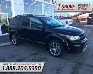 2015 Dodge Journey R/T w/ Leather Seats, DVD Player, AWD,