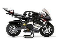 Unused 50cc petrol Mini Moto Racing Bike