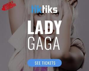 Lady Gaga Concert Tickets Live at in Edmonton at Rogers Place on August 3rd! Starting at $86 CAD