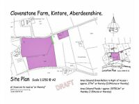 Agricultural Development Opportunity comprising plot plus 2 fields - Kintore