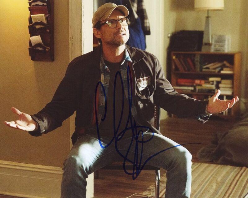 "Christian Slater ""Mr. Robot"" AUTOGRAPH Signed 8x10 Photo E"