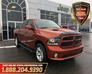 2013 Ram 1500 Sport| Leather| 4X4| Sunroof| Remote Start