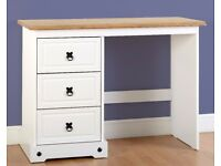 New White or Grey Corona Desk / Dressing table £125