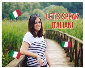 Italian Lessons/Conversation