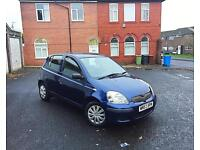 **2003 53 Reg Toyota Yaris T3 1.3 5DR Long MOT 100% Excellent Runner Bargain**