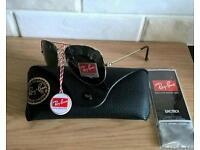 Rayban aviator sunglasses. New in box