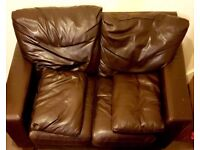 NEXT LEATHER SOFAS