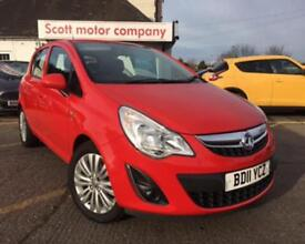 VAUXHALL CORSA 1.2 EXCITE AC 5d 83 BHP (red) 2011