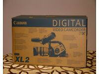 UN USED PROFESSION CANON CAMCORDER Xl-2 £600/-ono