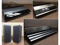 Bang & Olufsen Hi-Fi Beovox CX 100 Speakers + Beomaster 1900 Amplifier + Tape Deck + CD Player