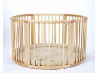 Large Wooden Playpen for Sale!!