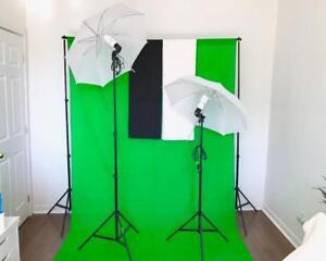 Éclairage Lumière Parapluie PRO de Studio pour Photo Video Umbrella Light Lighting Kit 2030