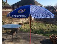 Pub Garden Umbrellas - Fosters - John Smith's - Carling Etc