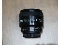 Nikon Nikkor AF 85mm f/1.8 D Lens