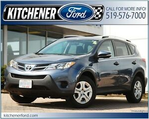 2013 Toyota RAV4 LE LE/ONLY 54K KM'S/ALLOYS/PWR GROUP/REAR CA...