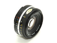 Nikkor 50mm f1.8 )manual focus lens. NICE CONDITION.