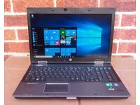 """HP 8540W 15.6"""" HD WINDOWS 10 LAPTOP with: 32GB RAM, Office 2016, Core i7, Photoshop, more"""