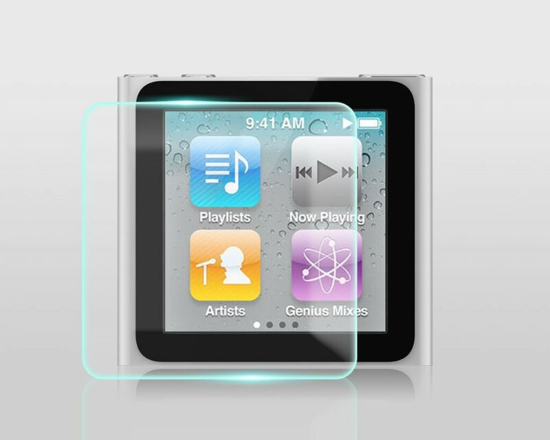 Crystal Clear Screen Protector for Apple iPod nano 6th Generation MP3