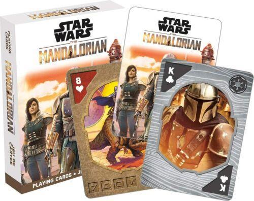Star Wars Mandalorian Photos Action Poker Game Playing Cards