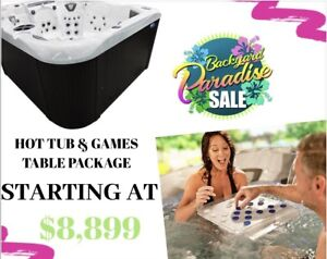 Backyard Paradise Games Table Package Deal!