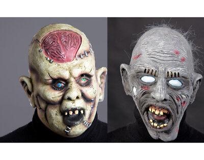 gruslige Zombiemasken Masken Zombie Halloween Maske Karneval Fasching