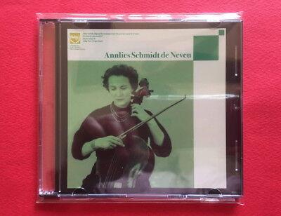 Annlies Schmidt de Neveu-Unissued Recordings Vol. 1 JAPAN PROMO CD