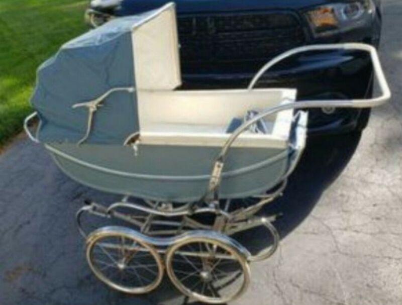 Bilt-Rite Antique Vintage Stroller Pram Carriage Baby Buggy