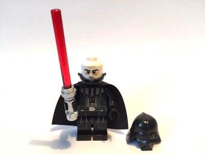 LEGO ® Star Wars™ Minifigur Darth Vader mit Laserschwert NEUE VERSION TYP 2 Helm ()