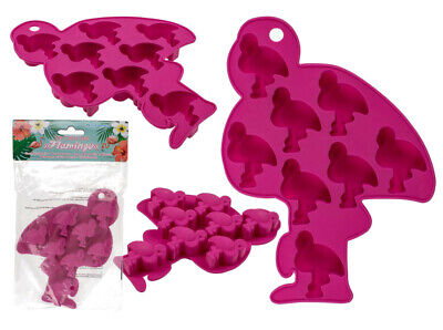 FLAMINGO NOVELTY SILICON ICE CUBE TRAY MOULD
