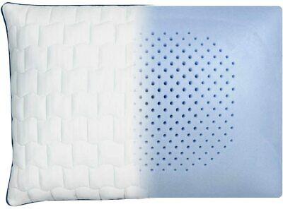 "Carpenter Isotonic Perfect Cool Memory Foam Pillow, Standard Queen, 18""x24"" -NEW"