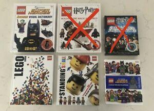 LEGO Books: Batman, DC, More