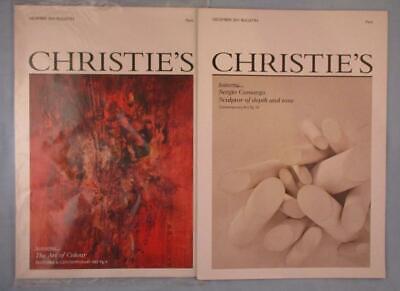 Christie's Bulletins Sergio Camargo Sculptor Contemporary Art Magazines Books, usado comprar usado  Enviando para Brazil