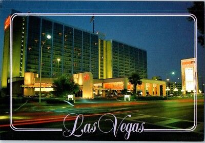 Maxim Closed Las Vegas Hotel Casino Postcard Off Strip Lv Nv Night View Unused B