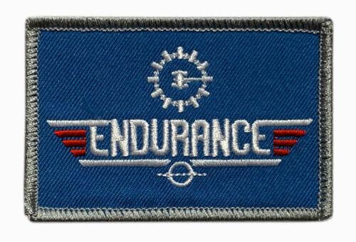 "Interstellar Movie Space Exploration Endurance Top Gun Patch [""Velcro Brand"" ]"