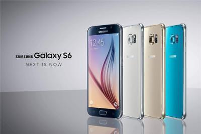 Sealed In Box   At T Samsung Galaxy S6 Sm G920a 32Gb Unlocked Smartphone