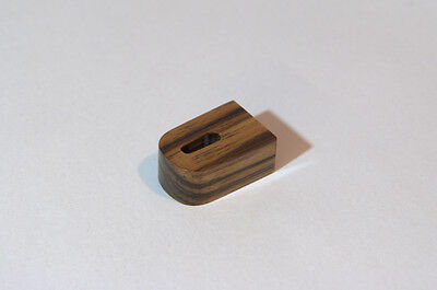 Special Wooden Body for DENON DL 103 DL103R Cartridge Holzgehäuse Zebrano Wood
