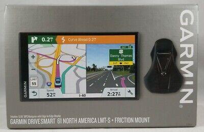 Garmin DriveSmart 61 NA LMT-S with Lifetime Maps/Traffic