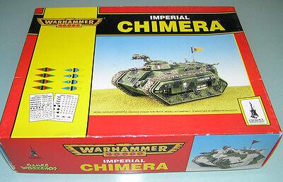 1995 OOP Citadel Warhammer 40k 40000 IMPERIAL CHIMERA Tank Model Kit NIB NOS