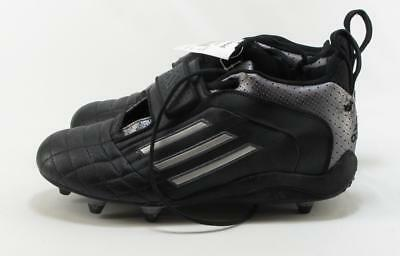 aff1fb363 Adidas Mens Quickslant 4D Black n Silver Cleats Size 9.5 with Imperfection!