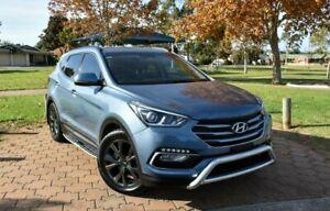 2016 Hyundai Santa Fe DM3 MY17 30 2WD Special Edition Blue 6 Speed Sports Automatic Wagon Ingle Farm Salisbury Area Preview