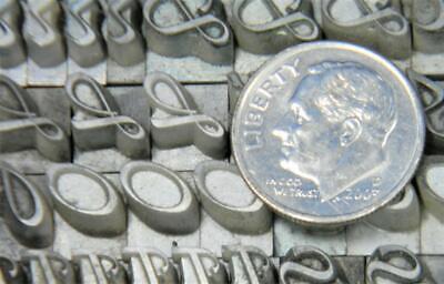 Alphabets Letterpress Print Type Import Bauer 24pt Legende Mn52 6