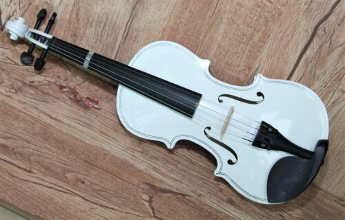 Vintage Fine Chinese Handmade White 1/2 Violin