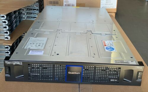 QUANTUM QXS-648 2U48 RAID Drive CHASSIS 2U 48 Bay SFF Dual Module 12Gbps Dual PS