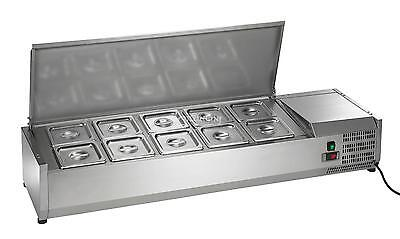New Arctic Air Refrigerated Counter-top Prep Unit 55 In. - Acp55