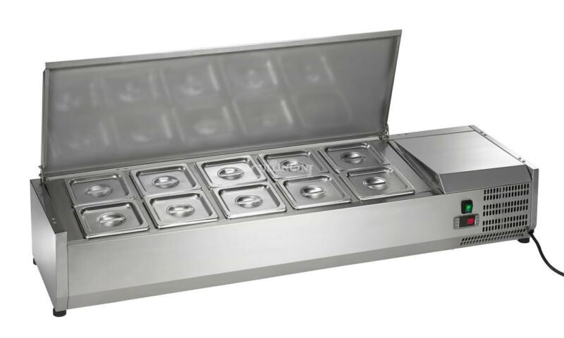 NEW Arctic Air Refrigerated Counter-Top Prep Unit,  55 in. - ACP55
