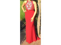Red Formal Dress For Sale (size 12)