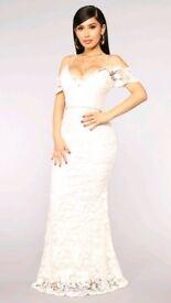 Lace Wedding Dress - unworn