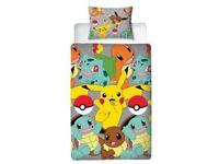 Pokemon single Duvet cover